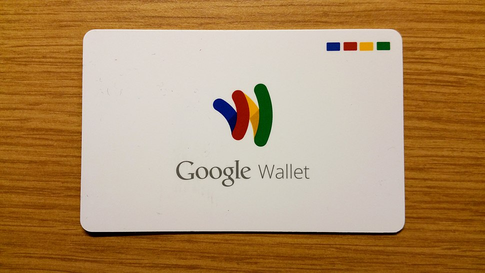 The Google Wallet card