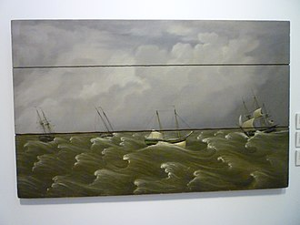 Fireboard - Image: The Great Gale of 1846