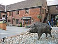 The Hampshire Hog Ringwood Brewery Ringwood Hampshire - geograph.org.uk - 213781.jpg