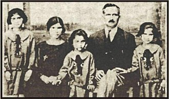 "Turkish Cypriots - Mehmet Remzi Okan with his wife and children in 1919 during the Turkish War of Independence. The family were Turkish Cypriots who owned the newspaper ""Söz Gazetesi""."