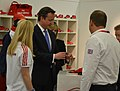 The PM inspects Team GB kit (7508003792).jpg
