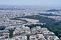 The Panathenaic Stadium from Mount Lycabettus on July 6, 2019.jpg
