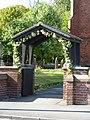 The Parish Church of Lytham, St Cuthbert, Lych Gate - geograph.org.uk - 1884751.jpg