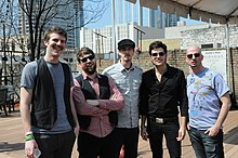 The Queen Killing Kings at SXSW 2009.jpg