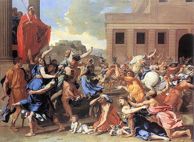 From commons.wikimedia.org: The Rape of the Sabine Women {MID-191694}