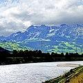 The Rhine, Swiss-Liechtenstein Border (32498934977).jpg