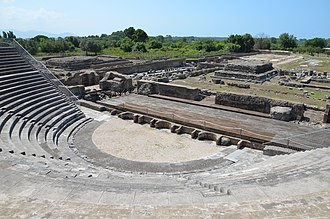 Minturno - The Roman theatre