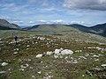 The Sail Chalmadale summit ridge - geograph.org.uk - 447983.jpg