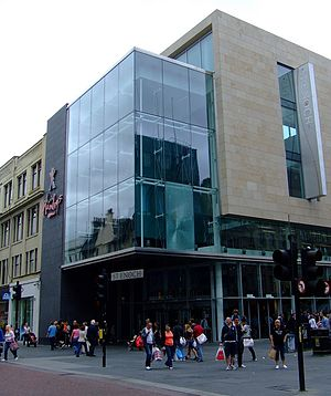 St Enoch Square - The St Enoch Center entrance viewed from Argyle Street