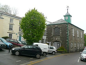Camelford - Image: The Town Hall, Camelford geograph.org.uk 1348974