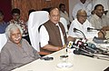 The Union Minister for Textiles, Shri Shankersinh Vaghela addressed the press conference, at Ahmedabad on October 26, 2008.jpg