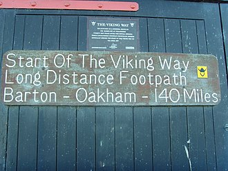 Viking Way - Image: The Viking Way