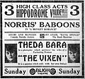 The Vixen-newspaperad-1917.jpg