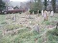 The churchyard at All Saints, East Dean - geograph.org.uk - 1145019.jpg
