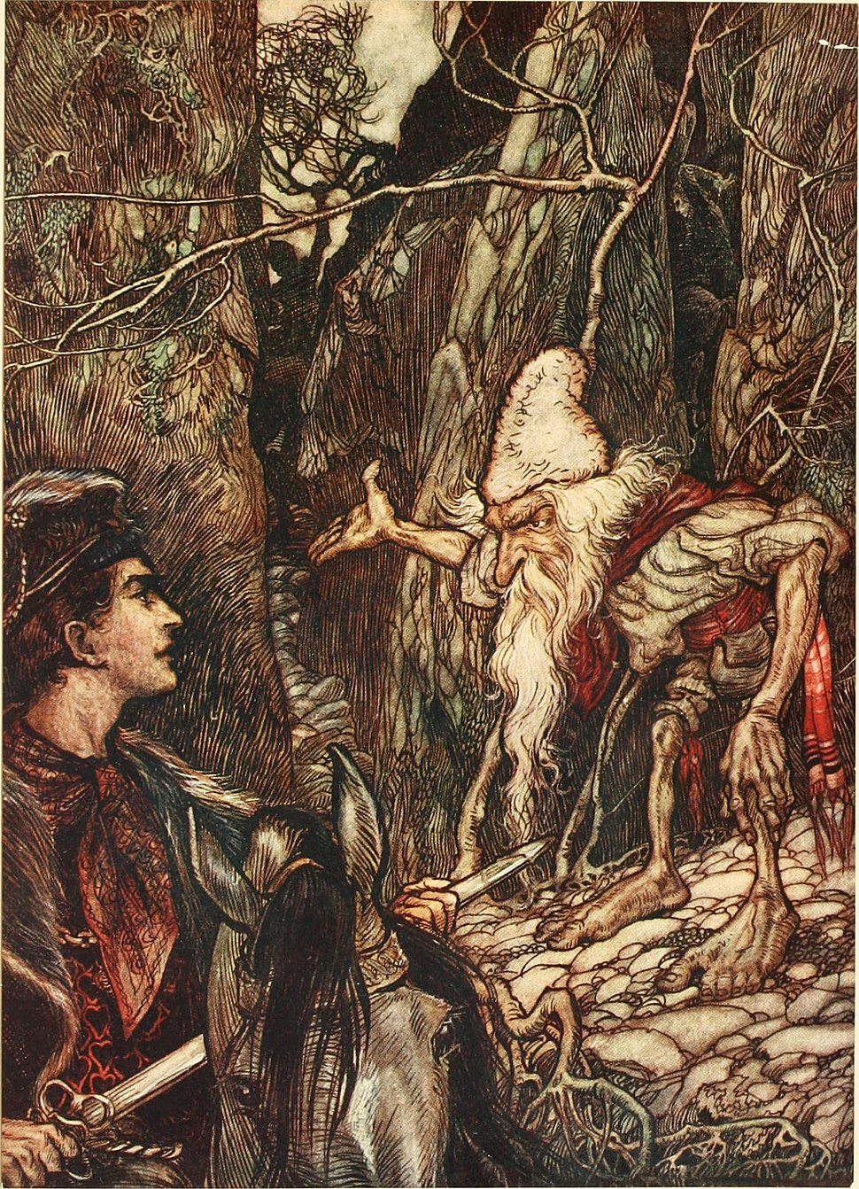The fairy tales of the Brothers Grimm (1916) (14596242367)