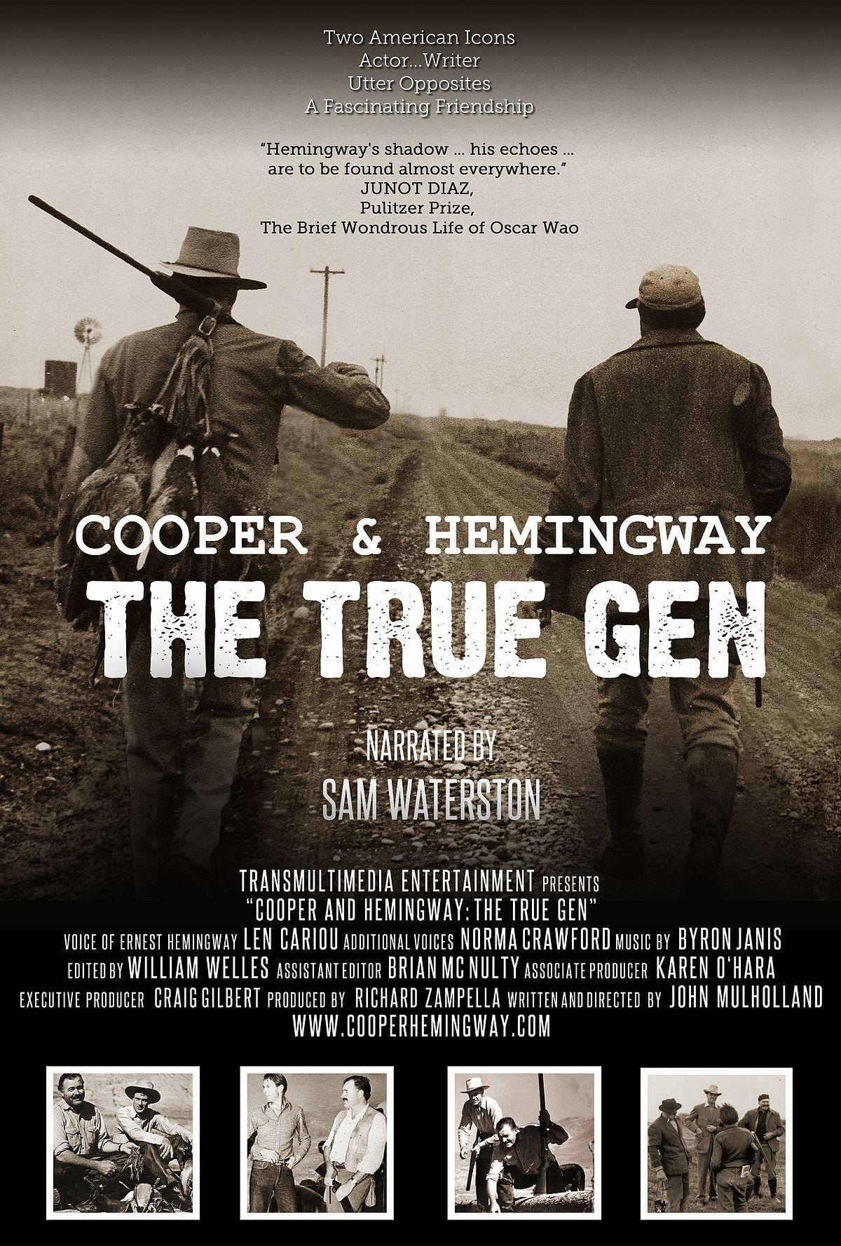 cooper  u0026 hemingway  the true gen