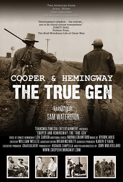 File:The official movie poster for COOPER AND HEMINGWAY THE TRUEGEN documentary film.jpg
