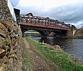 The railway bridge over the River Calder needs a coat of paint - geograph.org.uk - 737891.jpg