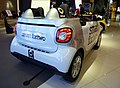 The rearview of smart fortwo (DBA-453342) used as Hanshin Koshien Stadium Relief Car.jpg
