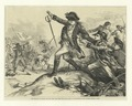 The shooting of Major Pitcairn (who had shed the first blood at Lexington) by the colored soldier Salem (NYPL b12610192-423805).tiff