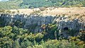 """The view of the cave from Hisarya,пещерата """"Васил Левски"""" - panoramio.jpg"""