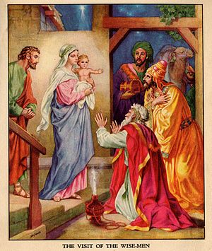 Bible illustration c.1900