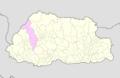 Thimphu Bhutan location map.png