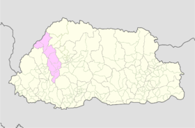 Thimphu Bhutan location map.png