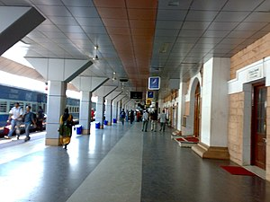 Thiruvananthapuram Central railway station - Interior of the station