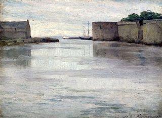 Harbor of Concarneau