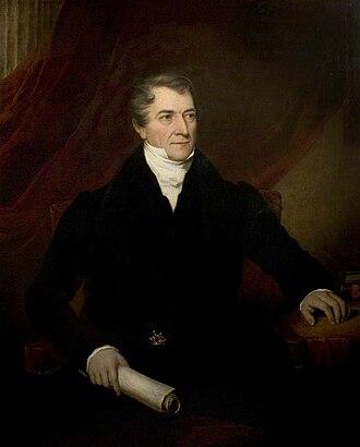 Thomas Denman, 1st Baron Denman - Image: Thomas Denman, 1st Baron Denman by Thomas Barber (c.1831 1833)