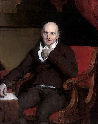 William Morgan (actuary) - William Morgan (by Thomas Lawrence), on view at the Institute of Actuaries, Staple Inn Hall, London