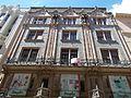 Thonet house (1888), glazed ceramics facade, Váci Street, 2017 Budapest.jpg