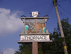 Thornage Village Sign 30 August 2008.JPG