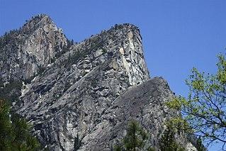 Eagle Peak (Mariposa County, California) mountain in Yosemite National Park, California