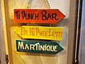 Ti Punch Bar - Pa Ni Pwoblem - Martinique sign in Fort-de-France airport.jpg