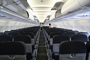 Tigerair Australia - Interior of a Tiger Airways Australia Airbus A320 (2008)