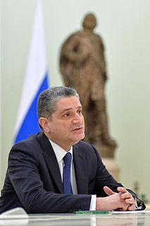 Tigran Sargsyan Economist, politician