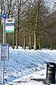Tilehurst Road-Waverley Road bus stop - geograph.org.uk - 1156628.jpg