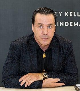 Till Lindemann German industrial metal musician
