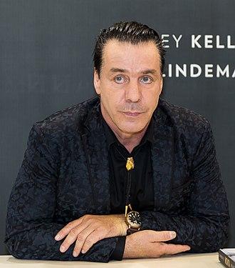 Till Lindemann - Lindemann in October 2017