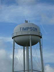 Timpson, Texas.
