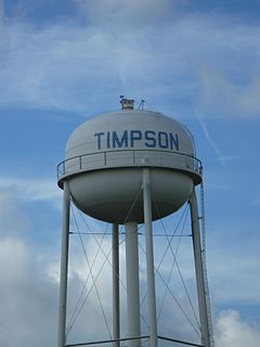 Timpson, Texas City in Texas, United States