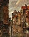 Tina Blau - A canal in Dordrecht.jpg