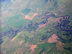 Tintaldra - Image: Tintaldra aerial