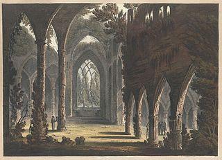 Tintern Abbey, Grand West Window.