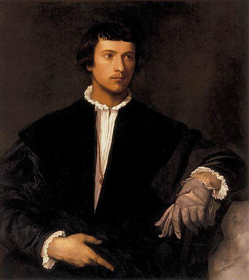 Titian - Man with a Glove - WGA22939