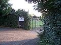Tiverton , Elmore FC Entrance - geograph.org.uk - 1281505.jpg