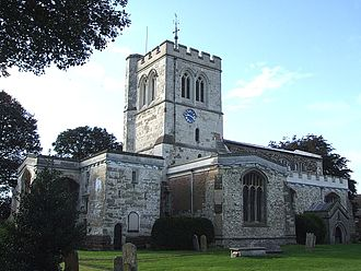 Toddington, Bedfordshire - St George's Church