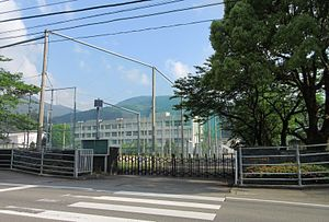 Tokushima Prefectural Komatsushimanishi High School Katsuura Branch School.JPG